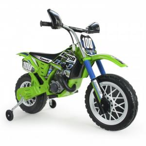 Электромобиль  мотобайк Kawasaki Scrambler 6V Injusa