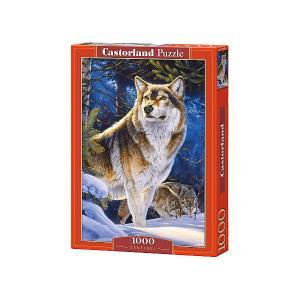 Пазл  Страж. Волк, 1000 деталей Castorland