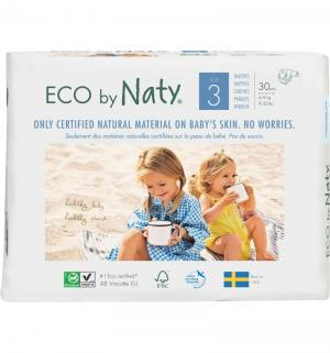 Подгузники  Детские (4-9 кг) 30 шт. Naty