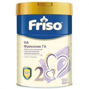 Молочная смесь  Фрисолак ГА 2 с 6 месяцев, 400 г Friso