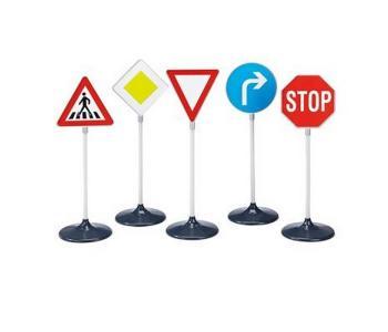 Набор детских дорожных знаков 5 шт. Klein