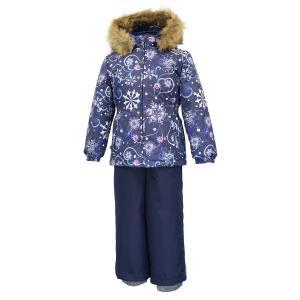 Комплект куртка/полукомбинезон  Wonder, цвет: синий Huppa