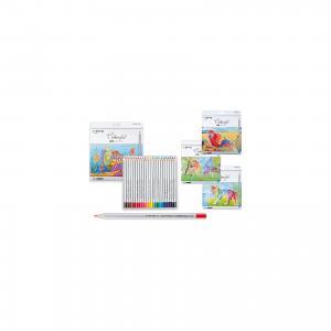 Цветные карандаши, 24 цвета Schreiber