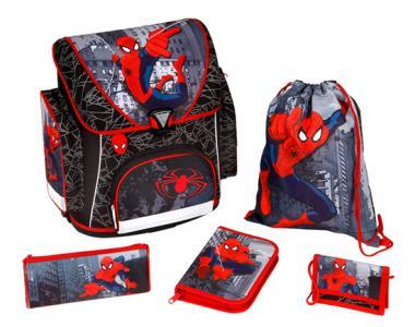 Портфель с наполнением Spider Man (5 предметов) Scooli