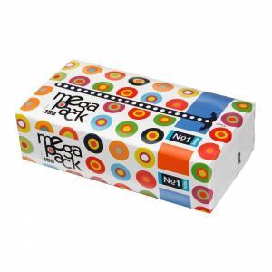 Платочки носовые универсальные двухслойные  Mega Pack, 150 шт Bella