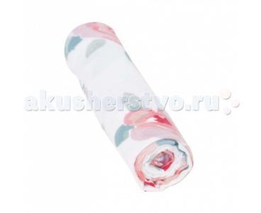 Пеленка  Bamboo Muslin Rosy Blend Bebe au Lait