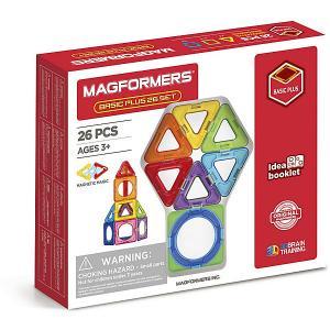 Магнитный конструктор  Basic Plus 26 Set MAGFORMERS