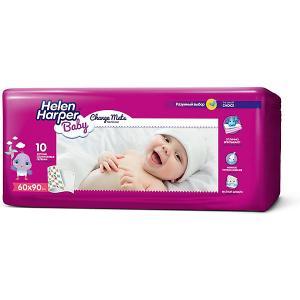 Детские пеленки  Baby 60х90 10 шт Helen Harper. Цвет: разноцветный