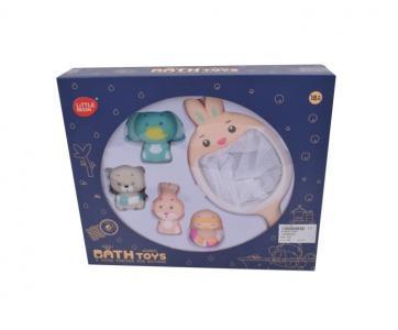 Набор игрушек для купания Зайка (5 предметов) Наша Игрушка