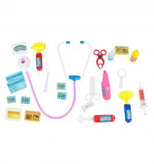 Игровой набор  Играем в Доктора Волшебная аптечка (22 предмета) Play Smart
