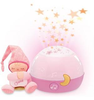 Ночник-проектор  Первые грезы розовый (со светом и звуком) Chicco