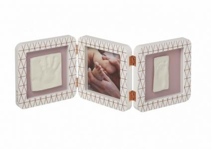Рамочка тройная Медный орнамент Baby Art