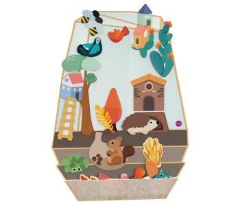 Деревянная игрушка  Vertiplay Магнитная игра Зачарованный сад Oribel