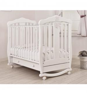 Кровать-качалка  Доминик, цвет: белый Гандылян
