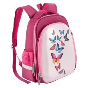 Ранец  Бабочки Silwerhof. Цвет: розовый
