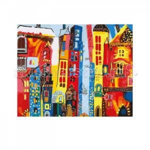Роспись холста по номерам Город Арт Креатто