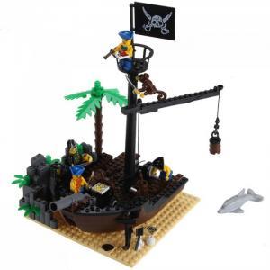 Конструктор  Пиратский док 306 (178 элементов) Enlighten Brick