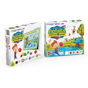 Игровой набор MAGNETICUS Логика (картонная коробка)