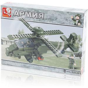 Конструктор  Армия: Поддержка с воздуха, 199 деталей Sluban. Цвет: разноцветный
