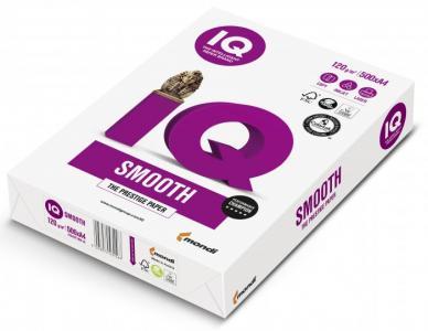 Smooth Бумага А4 120 г/м2 500 листов IQ