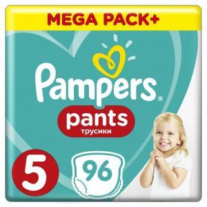 Подгузники-трусики Pants Junior р.5 (12-17 кг) 96 шт. Pampers