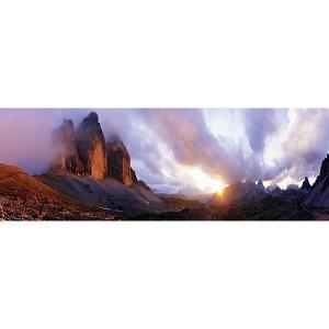 Пазл Heye Три вершины, 1000 деталей, панорама