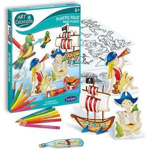 Набор для творчества SentoSpherE Волшебный пластик Пираты