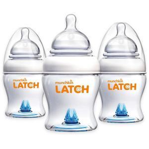 Бутылочка  Latch, 0-12 месяцев, 120 мл Munchkin