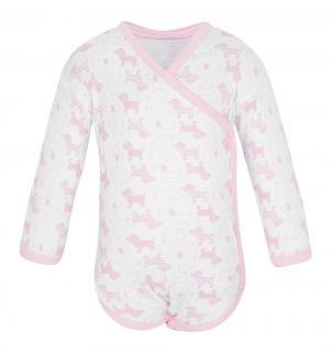 Боди  Розовые собачки Чудесные одежки