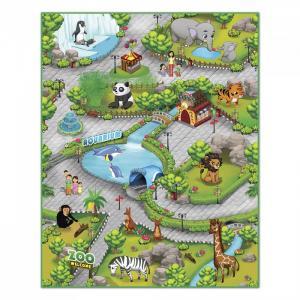 Игровой коврик  Интерактивный Зоопарк 3D 90х120 см Knopa