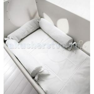 Комплект в кроватку  Bosco для детской кроватки с окошечками (4 предмета) Baby Expert