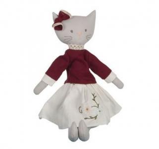 Мягкая игрушка  Мягконабивная кукла кошка Bellamy 50 см Bonikka