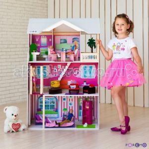 Кукольный домик Сицилия (с мебелью) Paremo