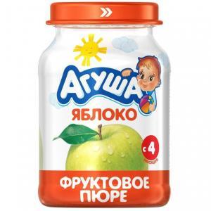 Пюре  яблоко с 4 месяцев, 200 г Агуша