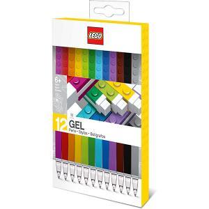 Набор гелевых ручек (12 шт.) LEGO. Цвет: разноцветный