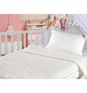 Одеяло 110 х 140 см, цвет: белый Нордтекс