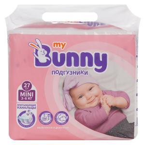 Подгузники  Mini (3-6 кг) шт. My Bunny
