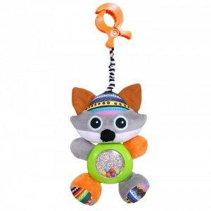 Подвесная игрушка  на прищепке Волчонок Тео 35x16 см Biba Toys