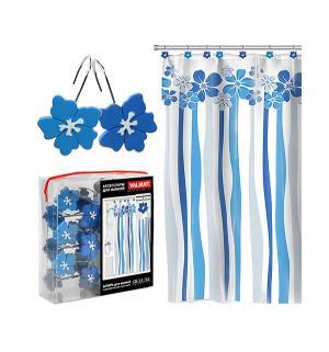 Штора  для ванны Водопад цветов Valiant