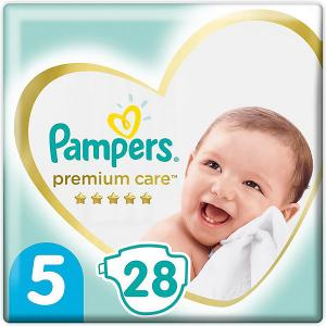 Подгузники  Premium Care 11-16 кг, 28 шт Pampers