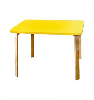 Стол  Мордочка, цвет:желтый Polli Tolli