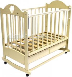 Детская кроватка  Иришка №2 качалка Ведрусс