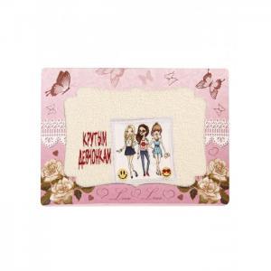 Полотенце махровое в подарочной упаковке Крутым девочкам 40x70 Dream Time
