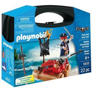 Конструктор Playmobil Возьми с собой Пиратский плот PLAYMOBIL®