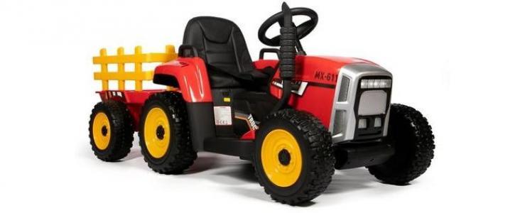 Электромобиль  трактор с прицепом TR 77 Barty