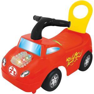 Каталка - автомобиль  Маленький гонщик Kiddieland. Цвет: красный