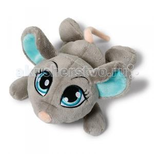 Мягкая игрушка  Мышка белая лежачая 50 см Nici