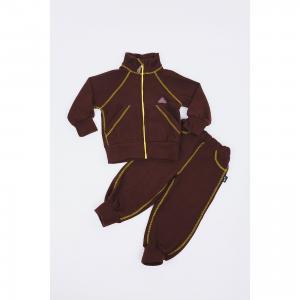 Спортивный костюм  Шоколад ЛисФлис. Цвет: желтый
