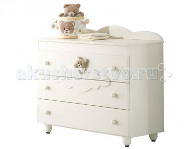 Комод  Abbracci by Trudi бельевой (3 ящика) Baby Expert