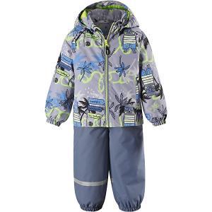 Комплект : куртка и полукомбинезон Lassie. Цвет: grün/grau
